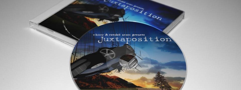 Juxtaposition CD Art Design