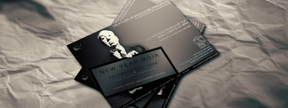 Party Flyer NYE Benefit Event